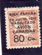 Espagne:  : Année  1936-37 PA N°114   Oblitéré - Oblitérés