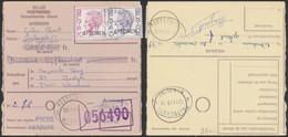 """école Postale (1979) - Elström Surcharge SPECIMEN (15 Frs) Sur Mandat Postal + Cachet """"Postschool / Wenduine"""" - 1970-1980 Elström"""