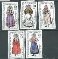 Allemagne Orientale - Yvert N° 1886  / 1890  **    4 Valeurs Neuves Sans Charnière  - PAL 2108 - Unused Stamps