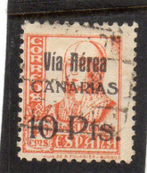 Espagne:  : Année  1936-37 PA N°159  Oblitéré - Oblitérés
