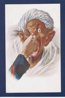 CPA IBANEZ Satirique Caricature Espagne Spania Maroc écrite Voir Dos - Satira