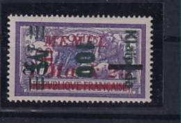 Memel, Mi.-Nr.164 III K, Ungebraucht. Kurzbefund. Haslau - Klaipeda