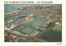 LES SABLES D'OLONNE - LA CHAUME    .  - CPM   Cliché Rare - Sables D'Olonne