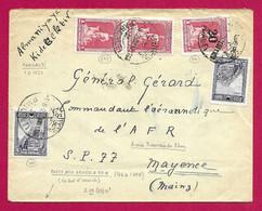 Enveloppe Datée De 1929 Adressée Au Général Gérard, Commandant De L'Aéronautique De L'Armée Française Du Rhin - Französische Zone
