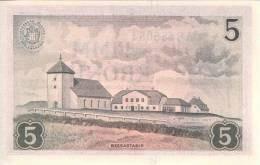 ICELAND P. 37b 5 K 1957 UNC - Iceland