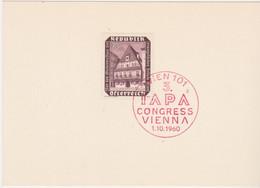 Karte 1953 - Mi 989 (1) :  Wiederaufbau - Historisches Bummerlhaus , Steyr , SST Wien 101 - 1945-60 Storia Postale