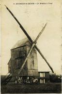 8152  -  Oise - ESTREE SAINT DENIS  :  LE MOULIN A VENT  ( Disparu ??)   Circulée En 1915 - Estrees Saint Denis