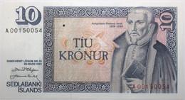 Islande - 10 Kronur - 1981 - PICK 48a.2 - NEUF - Iceland