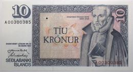 Islande - 10 Kronur - 1981 - PICK 48a.4 - NEUF - Iceland
