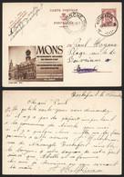 Belgique 1948 - Entier Postal Illustré Publibel 810 Mons - Rochefort Vers Binche - Publibels