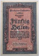 Liechstenstein - 50 Heller - 1920 - PICK 3 - SPL - Liechtenstein