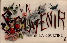 LA COURTINE     ( CREUSE )    SOUVENIR DE LA COURTINE - Saluti Da.../ Gruss Aus...