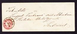 1865 Brief Mit Inhalt, 5 Kr Marke Gestempelt Erendred, Rumänien Nach Szalmart, Ungarn - Brieven En Documenten
