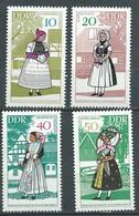 Allemagne  D.D.R. -  Série Yvert N° 1049  /  1052  **  4 Valeursneuves Sans Charnière - Pal 2201 - Unused Stamps