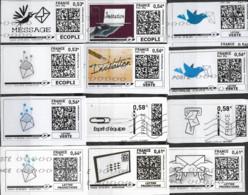 Vignettes  12  Différentes - Unclassified