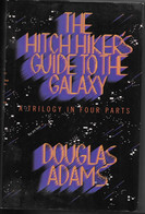 DOUGLAS ADAMS THE HITCH HICKER'S GUIDE OF THE GALAXY TB ETAT 4 HISTOIRES  LONDRES 1986- 590 Pages - Entertainment