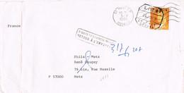 39231. Carta CALONGE (Gerona) 1980. Fechador S.P.E. RETOUR , Devuelto Remitente - 1971-80 Covers