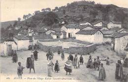 ALGERIE Algeria - ALGER : Place Du Village Kabyle TAOURIRT-AMOKRAM - CPA - Maghreb Afrique Du Nord - Algiers