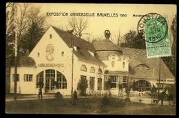 CPA BELGIQUE BRUXELLES EXPO UNIVERSELLE 1910 MUNSCHER HAUS 1910 EDIT FRANCOIS BRUXELLES - Exposiciones Universales