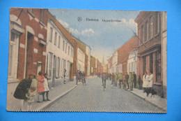 Hamme 1935: Kappellestraat Très Animée Et En Couleurs - Hamme