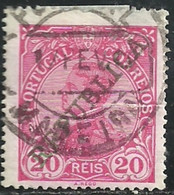 Portugal 1910 D Manuel II Overprinted REPUBLICA Cancel Madeira - Used Stamps
