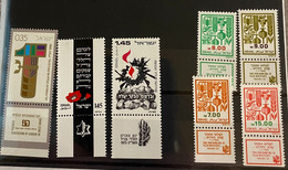 Israël Restantje Zegels MNH*** - Collections, Lots & Séries