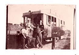 PHOTO TRAIN -   EN Gare D'ARGENTAN - DEDION - - Argentan