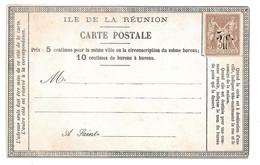 REUNION Carte Postale Précurseur Neuve Préaffranchie Timbre-poste Réunion N°7. Etat Fraicheur Postale - Sin Clasificación