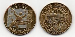 STRASBOURG 1995 / ECU - EURO DES VILLES - PIECES  DE 1 & 5 ECUS (ref 5539a) - France