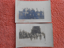 2 Cpa Photo Agrandie Sur Cliché Trouvé Sur Officier Allemand Tué 1914 - Guerra 1914-18