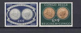 Belgisch  Congo 327/28 - MNH - 1947-60: Mint/hinged