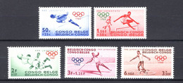 Belgisch  Congo 367/71 - MNH - 1947-60: Mint/hinged
