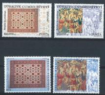 Z0366 - BELGIE - BELGIUM - 2005 - Nr 3413-14 - TOGETHER WITH TURKEY - WANDTAPIJTEN - Nuevos