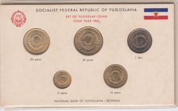 SOCIALISTIČKA FEDERATIVNA REPUBLIKA JUGOSLAVIJA KOMPLET 1965 SOCIALIST FEDERAL REPUBLIC OF YUGOSLAVIA - Yugoslavia