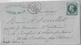 SAONE ET LOIRE GENELARD GC 1636 TYPE 17 1869 - 1849-1876: Periodo Classico