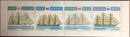 Belgium 1995 Sailing Ships Booklet MNH - Libretti 1953-....
