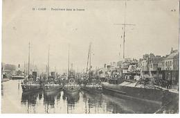 14 CAEN TORPILLEURS 1914 Tampon Hopital AUXILLIAIRE N° 102 CPA 2 SCANS - Caen