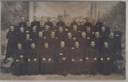 Österreich - Möfling, Priestergruppe, Sw-Fotokarte, Gelaufen 1910 - Sin Clasificación