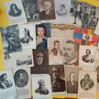 LOT DE 50 CARTES PERSONNAGES CELEBRES - 5 - 99 Postcards