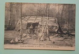CPA - FORET DE SENART - Une Cabane De Bucherons - Sénart