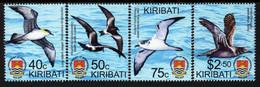 Kiribati - 2019 - 40th Anniversary Of Independence – Birds Of Kiribati - Mint Stamp Set - Kiribati (1979-...)