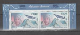 FRANCE / 2005 / Y&T PA N° 68a ** : Adrienne Bolland & Avion Caudron G3 (de Feuillet) X 2 = Haut Du Feuillet Daté - 1960-.... Mint/hinged