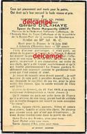 Oorlog Guerre Gerard Delahaye Bousbecque Soldat Mort Pour La France à Schweix ( Moselle ) 14 Juin 1940 Wervicq Wervik Le - Santini