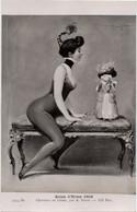 Clowness Au Chien Par A. PENOT - Salon D'Hiver 1909 - Clown - Poupée - NU EROTISME - - Unclassified