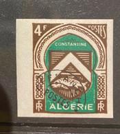 Algerie/Algeria Imperf Armoiries Préoblitéré YT18a  Non Dentelé MH/neuf* - Unclassified