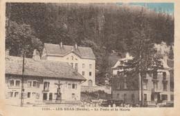 LES GRAS (Doubs) - La Poste Et La Mairie.CPSM édition CLB. N° 33291. - Unclassified
