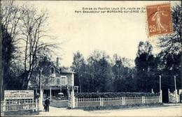 CPA Morsang Sur Orge Essonne, Entree Du Pavillon Louis XIV - Sonstige Gemeinden