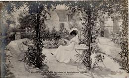 Jardin Par Me BERTHON - Union Des Femmes Peintres Et Sculpteurs (1909) - - Unclassified