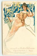 N°16962 - Art Nouveau - L'Iris - Souvenir De La Belle Jardinière - Otros Ilustradores