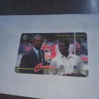 Cayman Islands-brian Lara's Innings In Antigua In April 1994 Of 375-(12ccia022640)+used Card+1card Prepiad Free - Islas Caimán